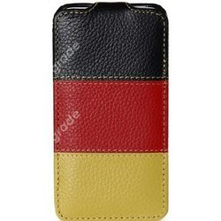 Чехол-книжка для Samsung Galaxy S2/i9100 Melkco CE Nations Germany 6