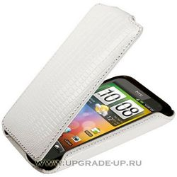Чехол-книжка для HTC Incredible S/G11 Abilita белый варан 3