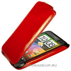 Чехол-книжка для HTC Incredible S/G11 Abilita красный лак 39