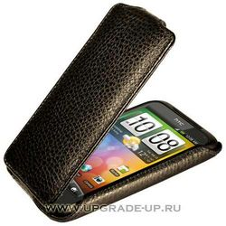 Чехол-книжка для HTC Incredible S/G11 Abilita черный флотер 69